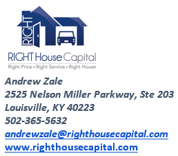 Right House Capital - Website for Scratch and Dent Mortgage Loans